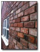 Reclaimed Brick with Copes RTUM CL3 - Attractive finish